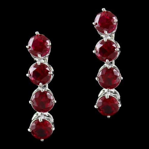 Solitaire Zircon Stone Drops Earring