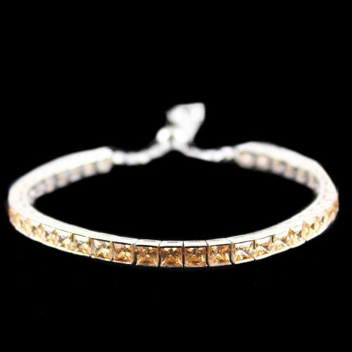 Zircon Champion Stone Party Wear Channel Bracelets