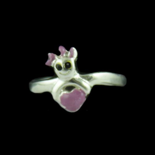 Silver Baby Toll Ring