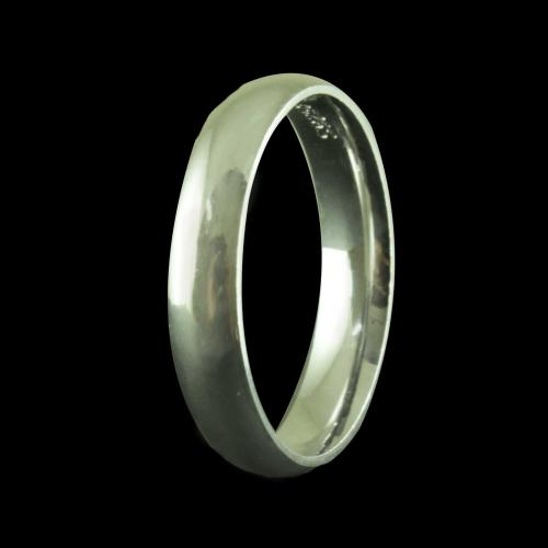 R20461 Sterling Silver Wedding Band Rings