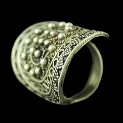 SILVER OXIDIZED BRIDAL DESIGN RINGS