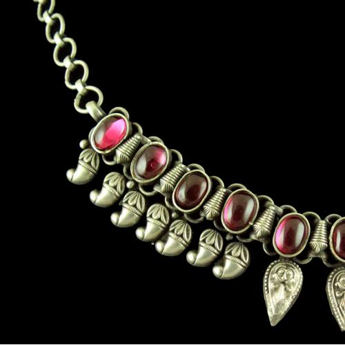 Silver Fancy Design Necklace