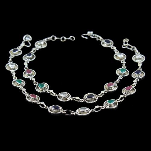 Antique floral Design Anklets