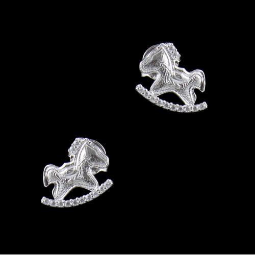 BABY HORSE EARRINGS