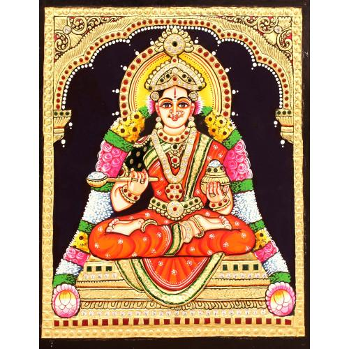 ANNA POORNI TANJORE PAINTING