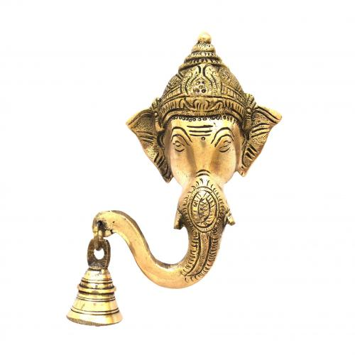BRASS GANESHA WALL HANGING