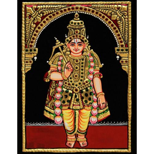 TANJORE PAINTINGCBUDDHA AVATHARAM