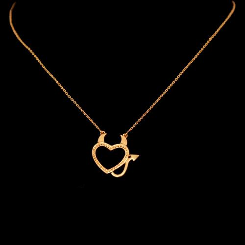GOLD PLATED PENDANT WITH CHAIN