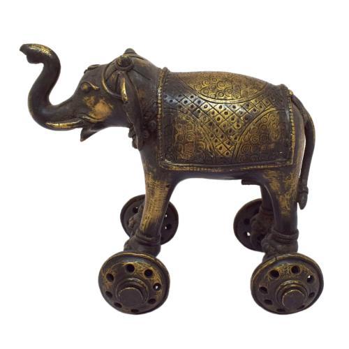 TIKAMGARH BRASS ELEPHANT