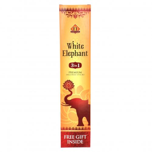WHITE ELEPHANT AAGARBATHI