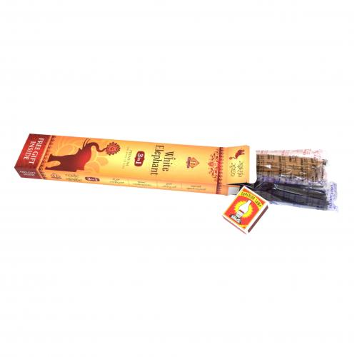 WHITE ELEPHANT INCENSE RED
