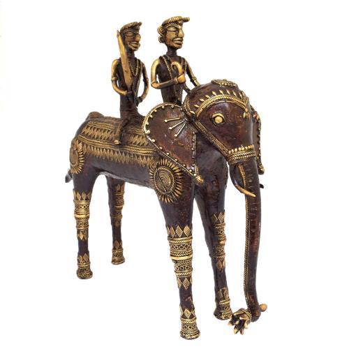 ELEPHANT WITH 2 RIDER