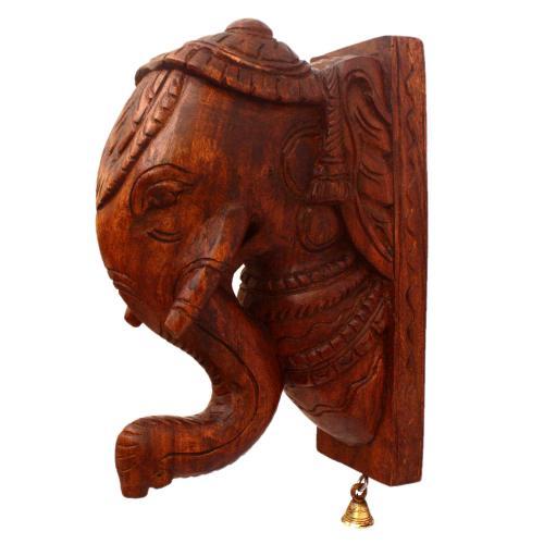 WOODEN ELEPHANT HANGER