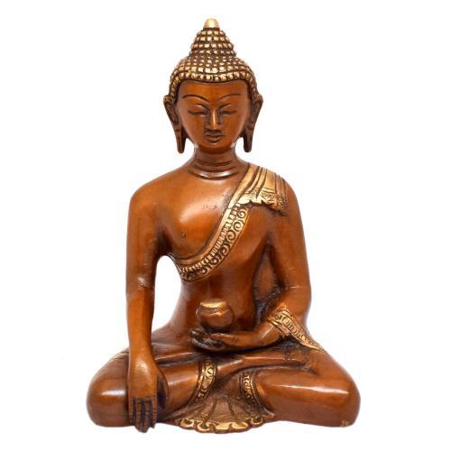 BRASS BUDDHA MEDITATION