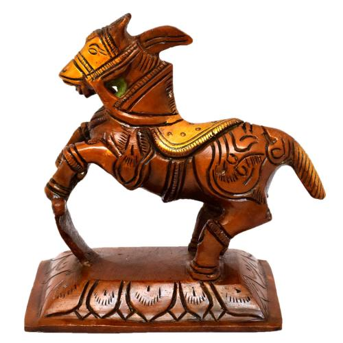 BRASS STANDING HORSE