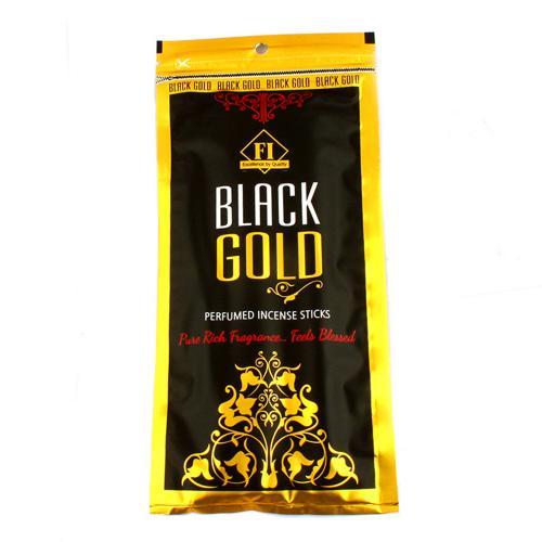 BLACK GOLD INCENSE POUCH
