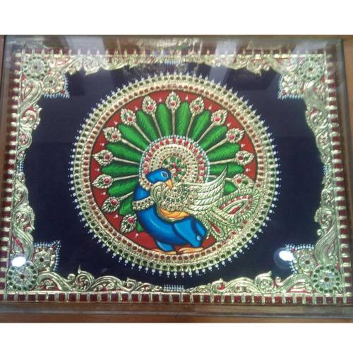 TANJORE PAINTING ANNAPAKSHI