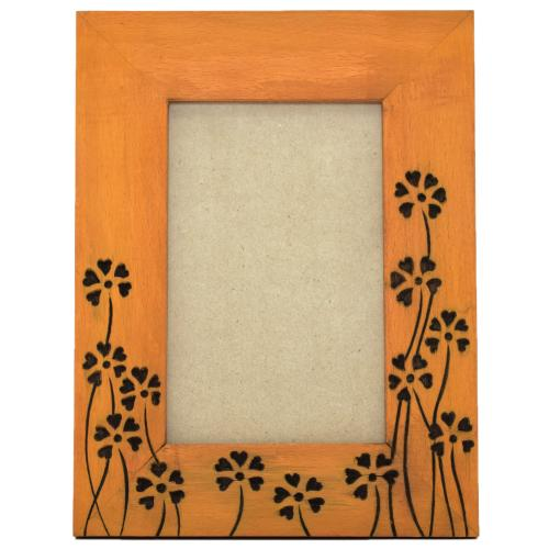 WOODEN CARVING PHOTO FRAME