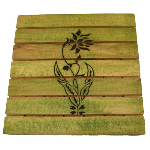 WOODEN CARVING COASTER