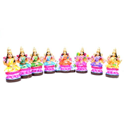 GOLU DOLL ASHTA LAKSHMI SMALL SET OF 8 PCS