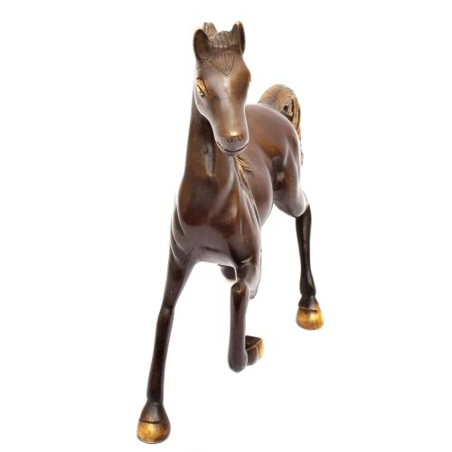 BRASS HORSE RUNNING SMALL