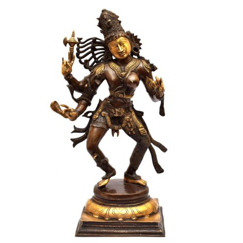 BRASS ARDHANARESHWARA DANCING