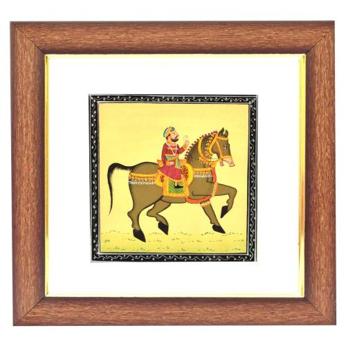 SILK PAINTING PA HORSE