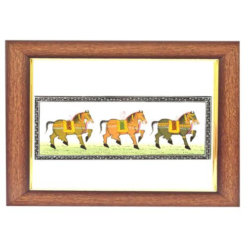 SILK PAINTING PA HORSE SMALL