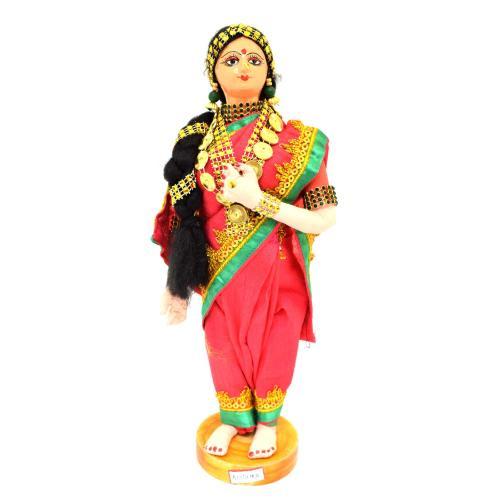 BENGALI FINE ART HAND MADE DOLL ANDHRA BRIDE