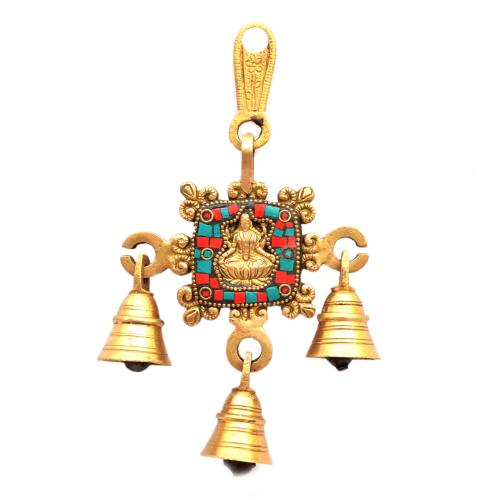BRASS LAKSHMI BELL 1 IN 1