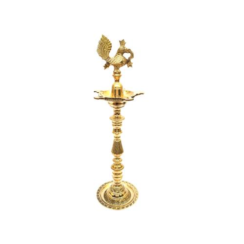 BRASS ANNAPAKSHI INAUGURATION OIL LAMP