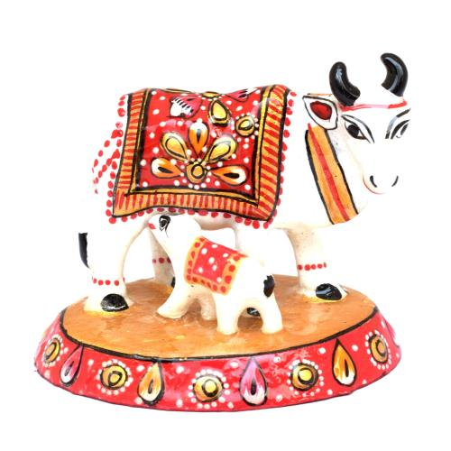 COW WITH CALF PAINTING