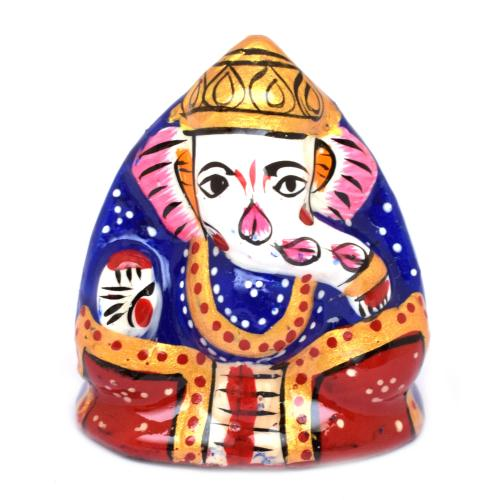 GANESHA COCONUT PAINTING