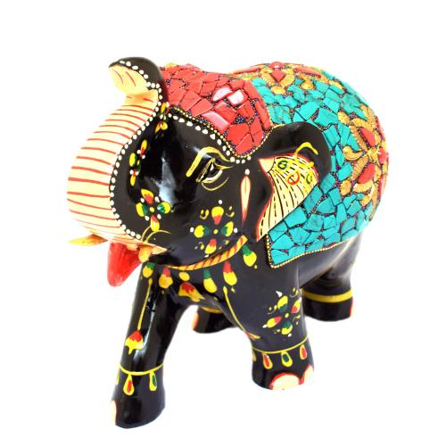 ELEPHANT UT NEPALI WORK PAINTING