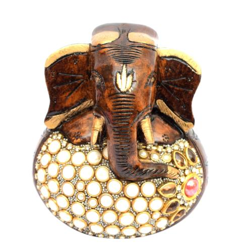 GANESHA PAPER WEIGHT  NEPALI STONE DEITIES