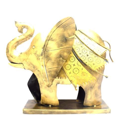 DECORATIVE HANDICRAFTS PAINTED TABLE DECOR ELEPHANT