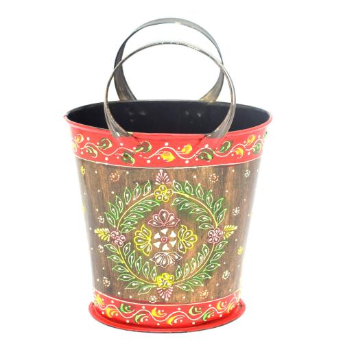 DECORATIVE HANDICRAFTS PAINTED BULTI BASKET