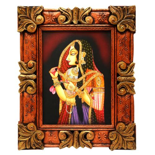 HAND MADE PAINTING  LADY