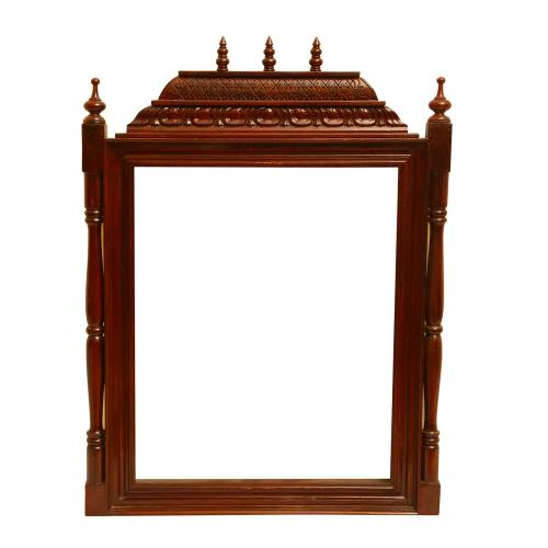 TEAK WOOD MANTAP FRAME