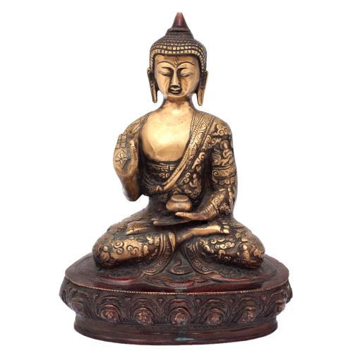 BRASS BUDDHA BLESSING AQ