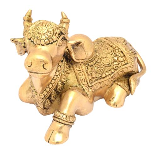 BRASS NANDHI SITTING