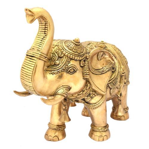 BRASS ELEPHANT STANDING