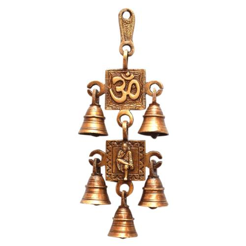 BRASS OM SAIBABA  BELL 2 IN 1