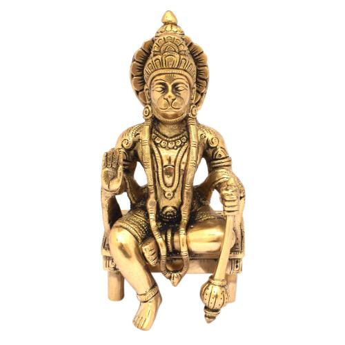 BRS HANUMAN SITTING ON CHAIR