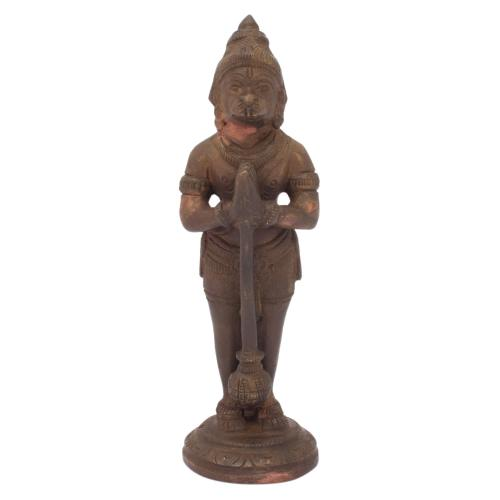 HANUMAN BRASS IDOL ANTIQUE FINISH