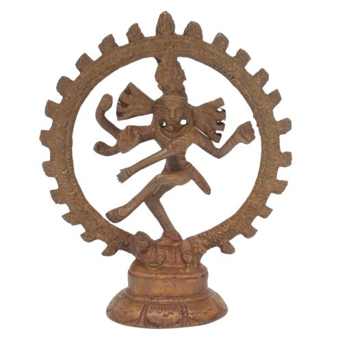 NATARAJA BRASS IDOL ANTIQUE FINISH