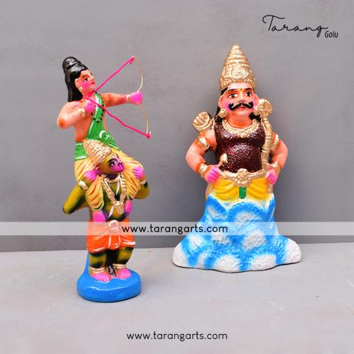INDRAJIT VADAM SET OF 2 GOLU DOLLS
