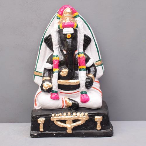 GANESHA (PILLAYAR PATTI)SITTING GOLU DOLLS