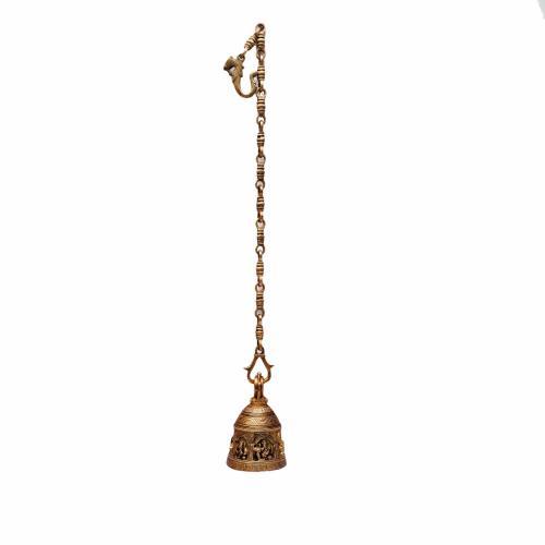 BRASS GANESHA HANGING BELL