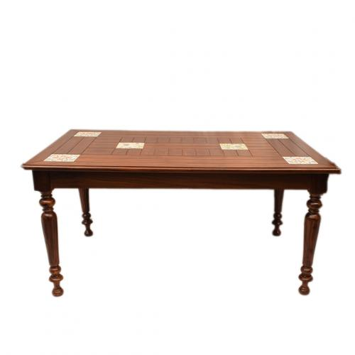 ETHINIC WOODEN CARVED DINING TABLE FOR HOME DECOR